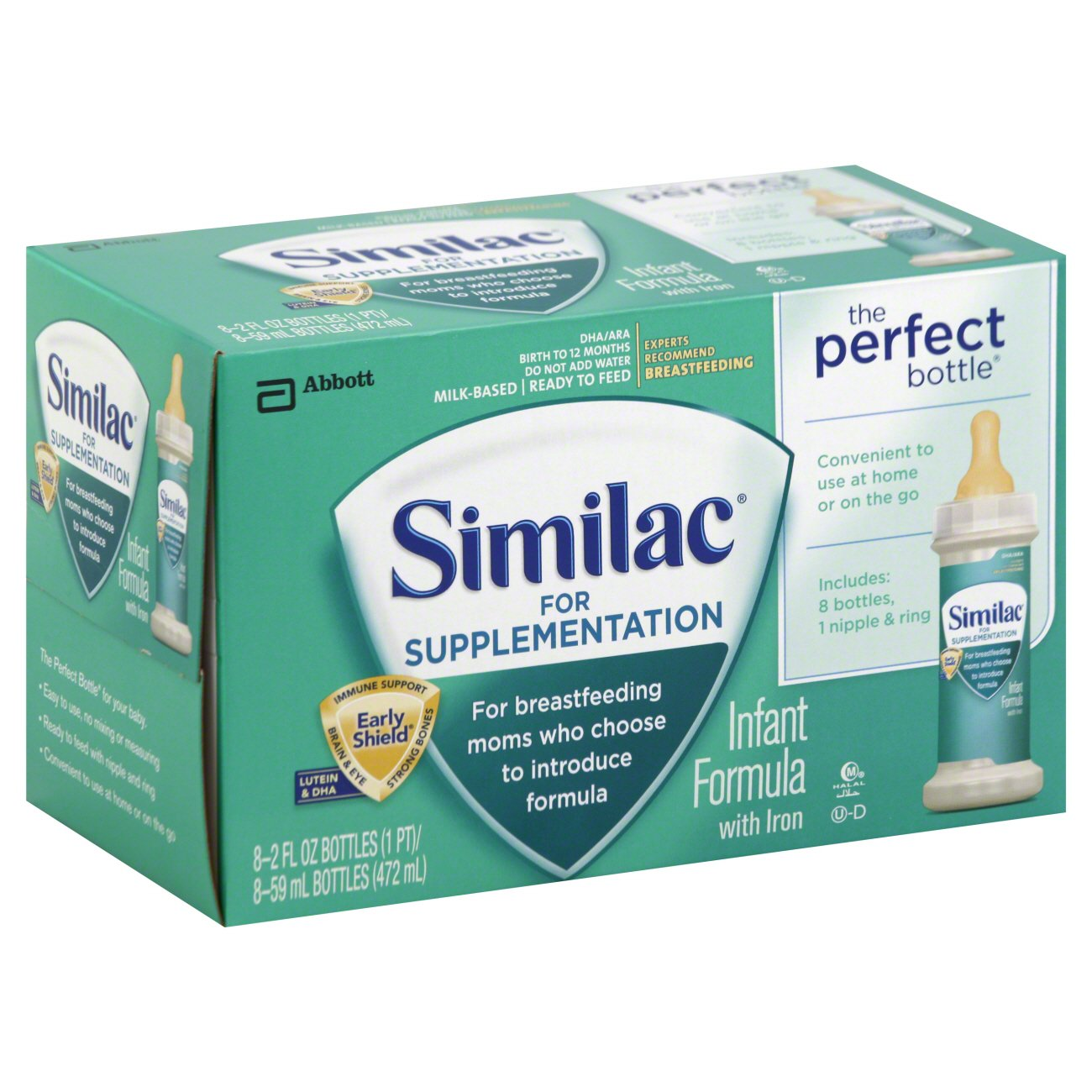 Alimentum Ready To Feed 2 Oz similac for supplementation infant formula with iron 2 oz