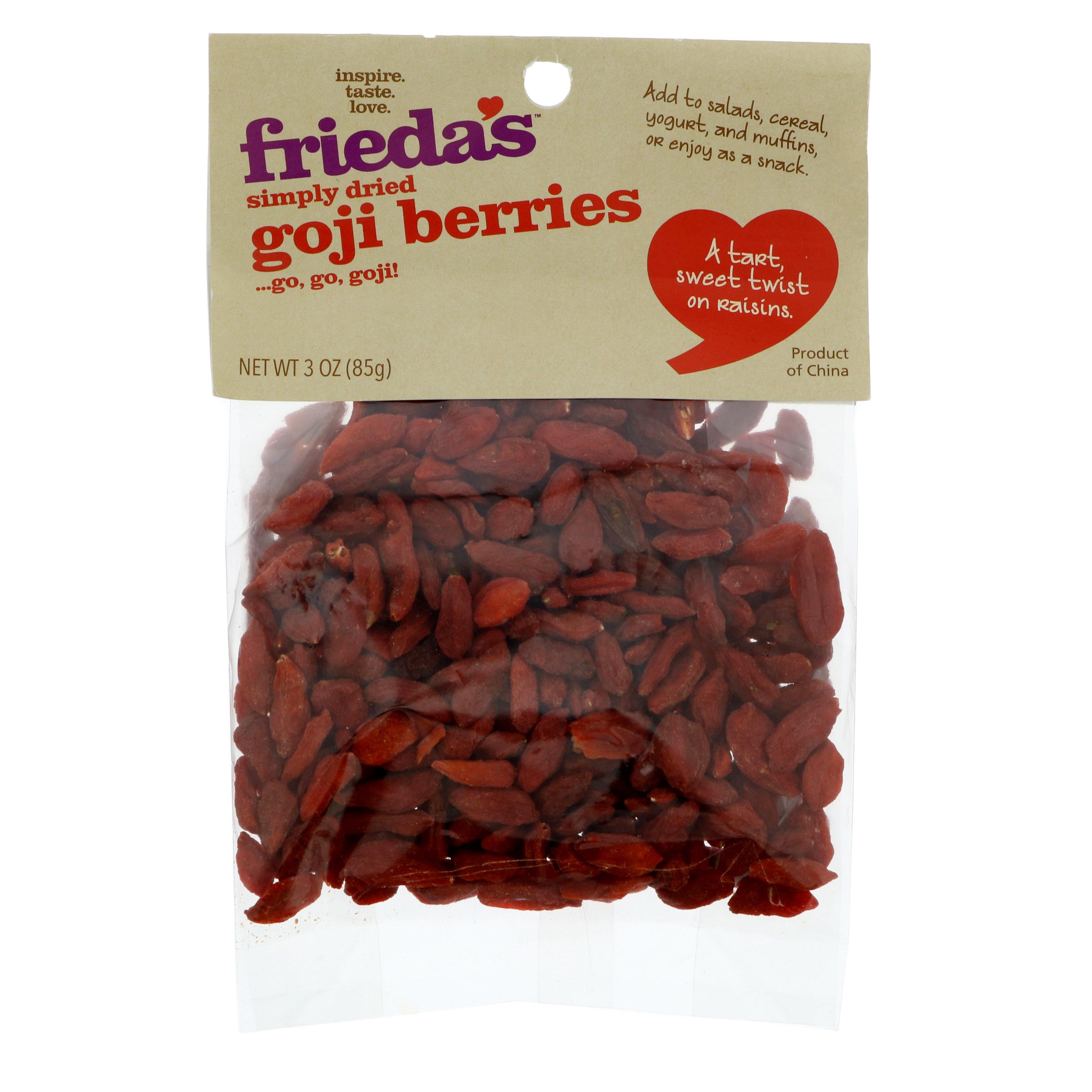 Frieda S Dried Goji Berries Shop Fruit At H E B