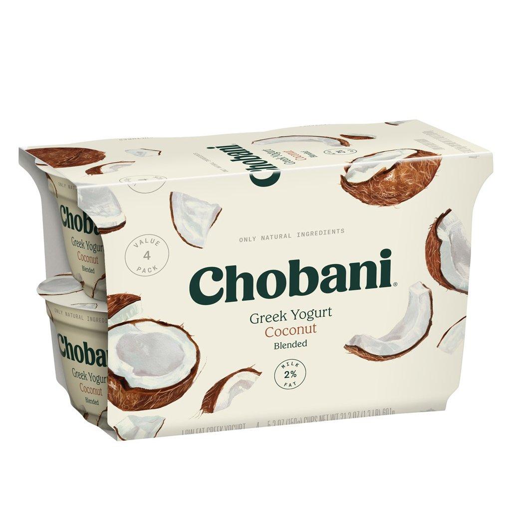Chobani Low-Fat Coconut Blended Greek