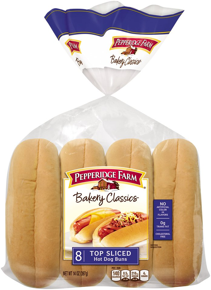 Pepperidge Farm Top Sliced Hot Dog Buns Shop Bread At H E B