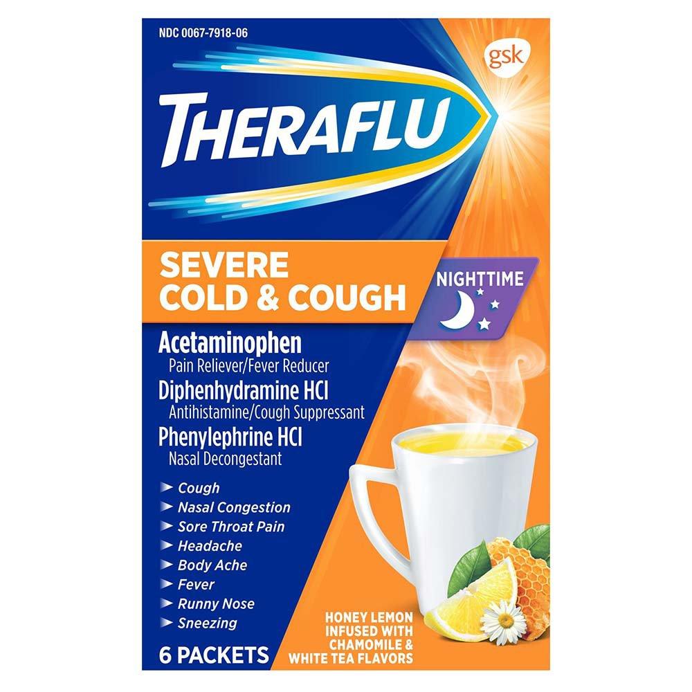 Theraflu Night Time Severe Cold Cough