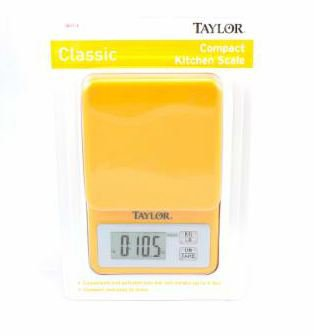 Taylor Compact Digital Kitchen Scale   Shop Cooking Tools At HEB
