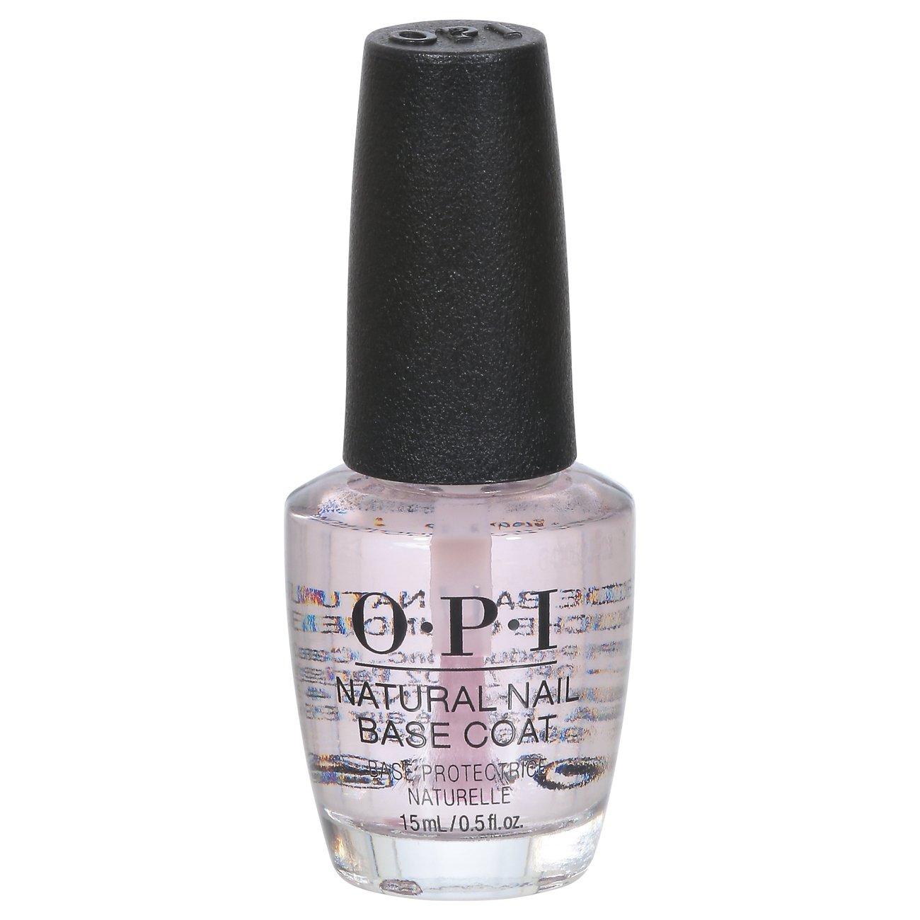 Opi Natural Nail Base Coat Shop Nail Polish At H E B