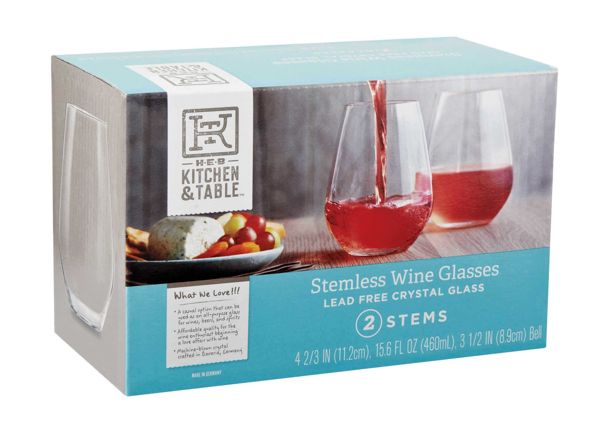 Kitchen and Table Stemless Wine Glasses - Shop Glassware at HEB