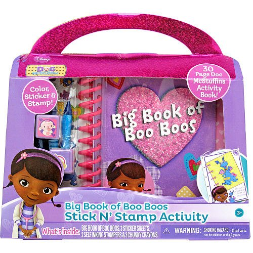 Tara Toy Doc McStuffins Talking Big Book of Boo Boo/'s Activity Pad