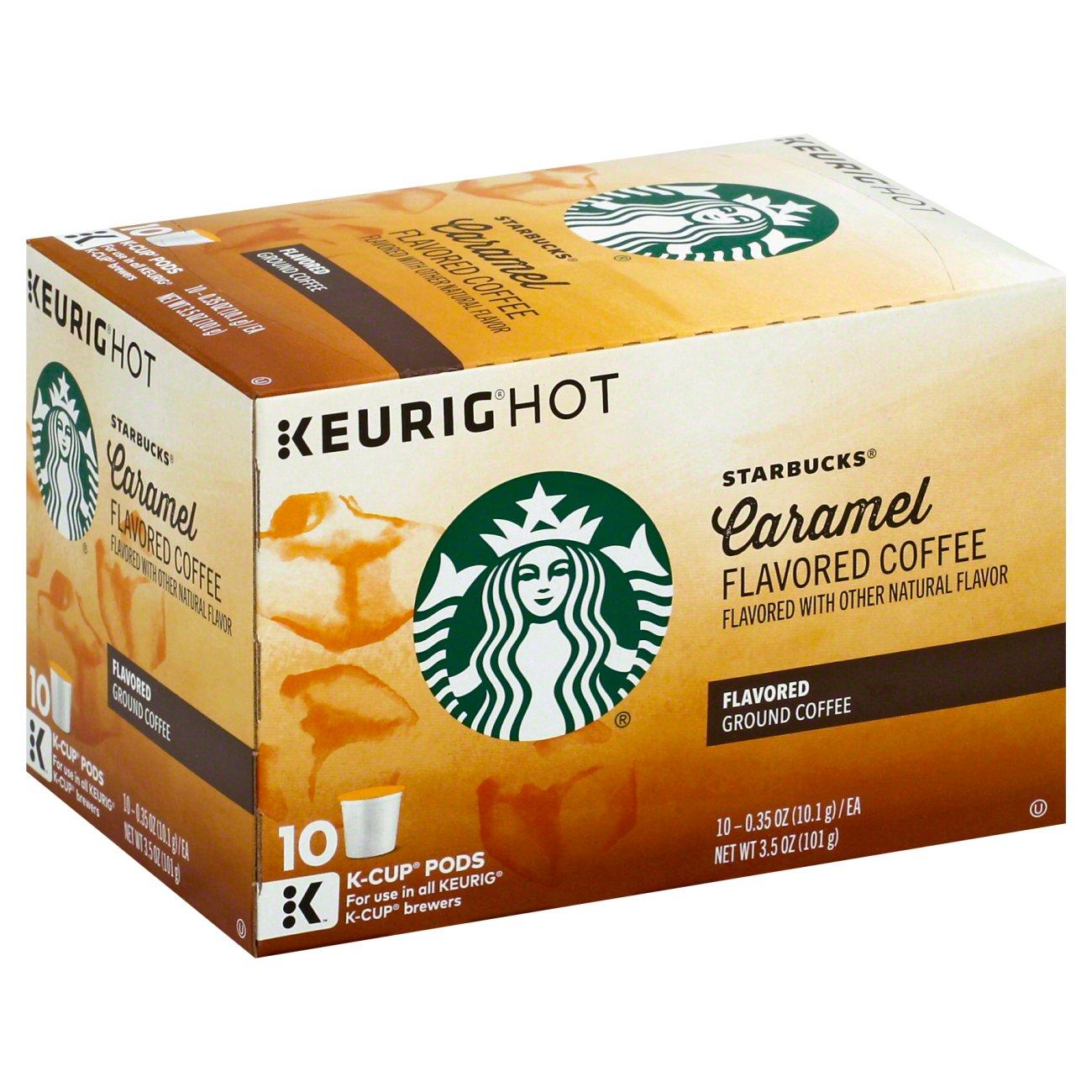 Starbucks Caramel Flavored Single Serve Coffee K Cups ‑ Shop