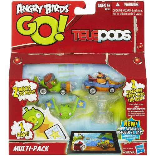 Telepods Red Bird Kart Hasbro Angry Birds GO
