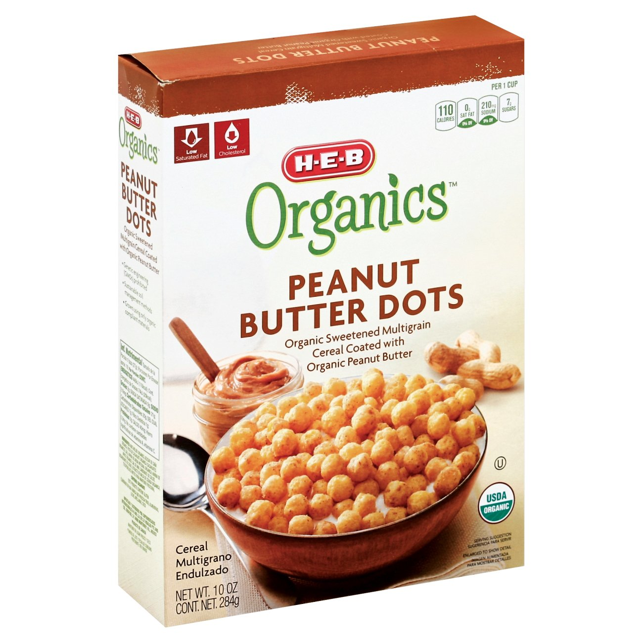 H-E-B Organics Peanut Butter Dots Cereal