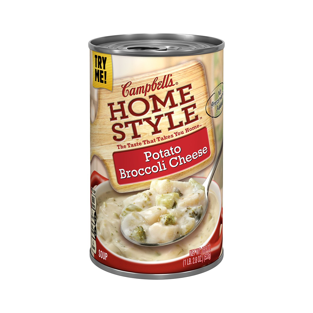 Campbell S Homestyle Potato Broccoli Cheese Soup Shop Soups Chili At H E B