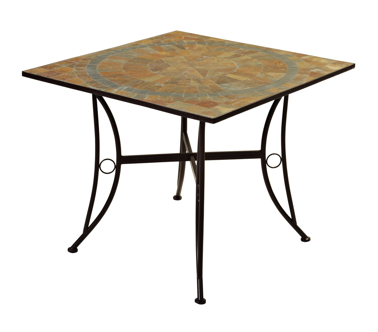 Zest Garden Brazos Slate Dining Table   Shop Furniture At HEB
