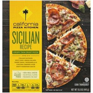 California Pizza Kitchen Crispy Thin Crust Sicilian Recipe Pizza ...