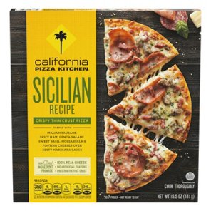 Directions To California Pizza Kitchen By Crispy Thin Crust Sicilian ...