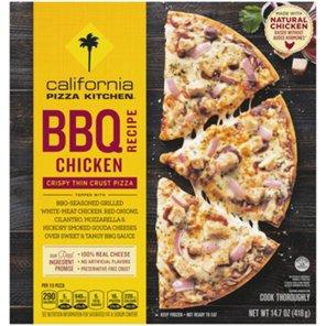 California Pizza Kitchen Crispy Thin Crust BBQ Recipe Chicken Pizza ...