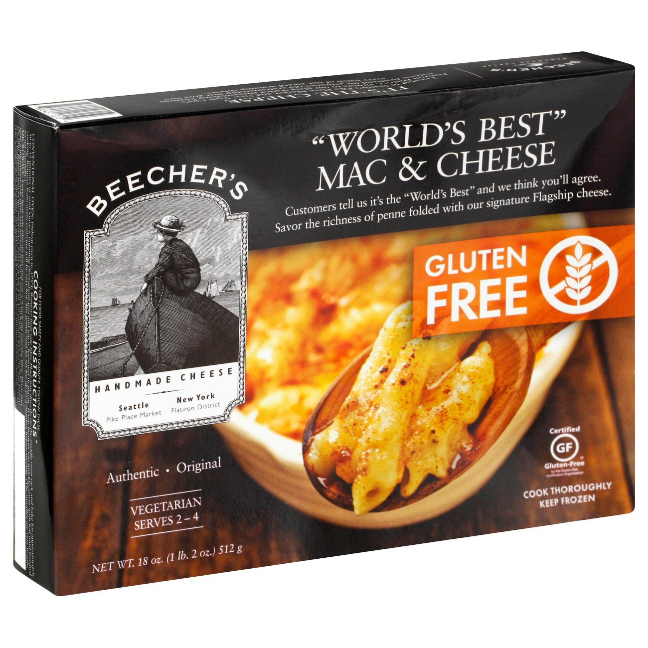 beecher u0027s world u0027s best gluten free mac u0026 cheese shop family size