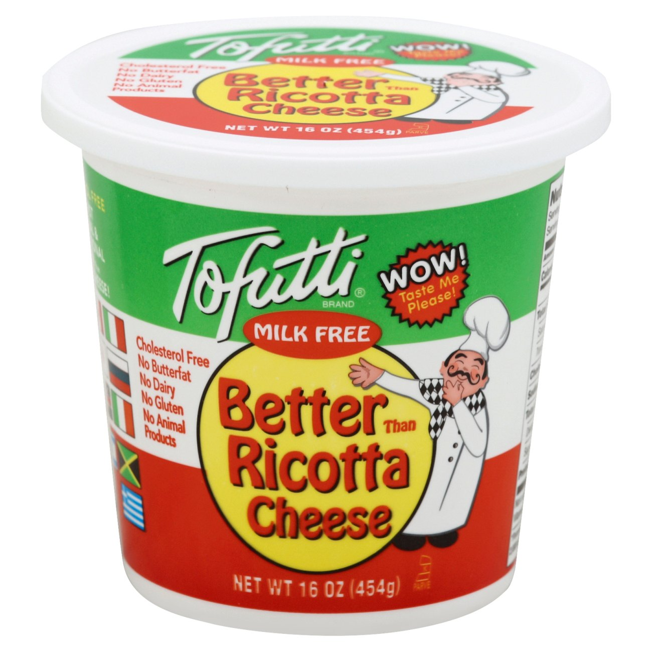 Tofutti Better Than Milk Free Better Than Ricotta Cheese Shop Cheese At H E B