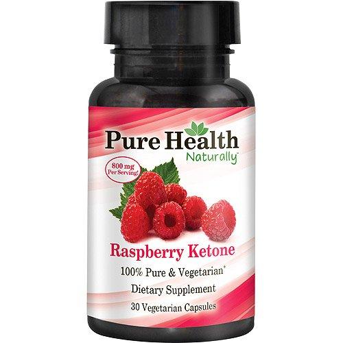 Pure Health Raspberry Ketone 800 Mg Dietary Supplement Vegetarian