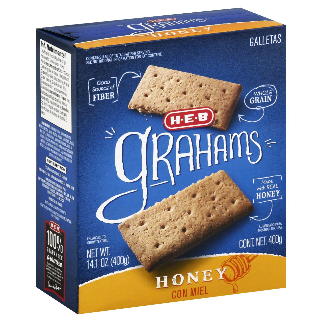 honey graham crackers nutrition facts
