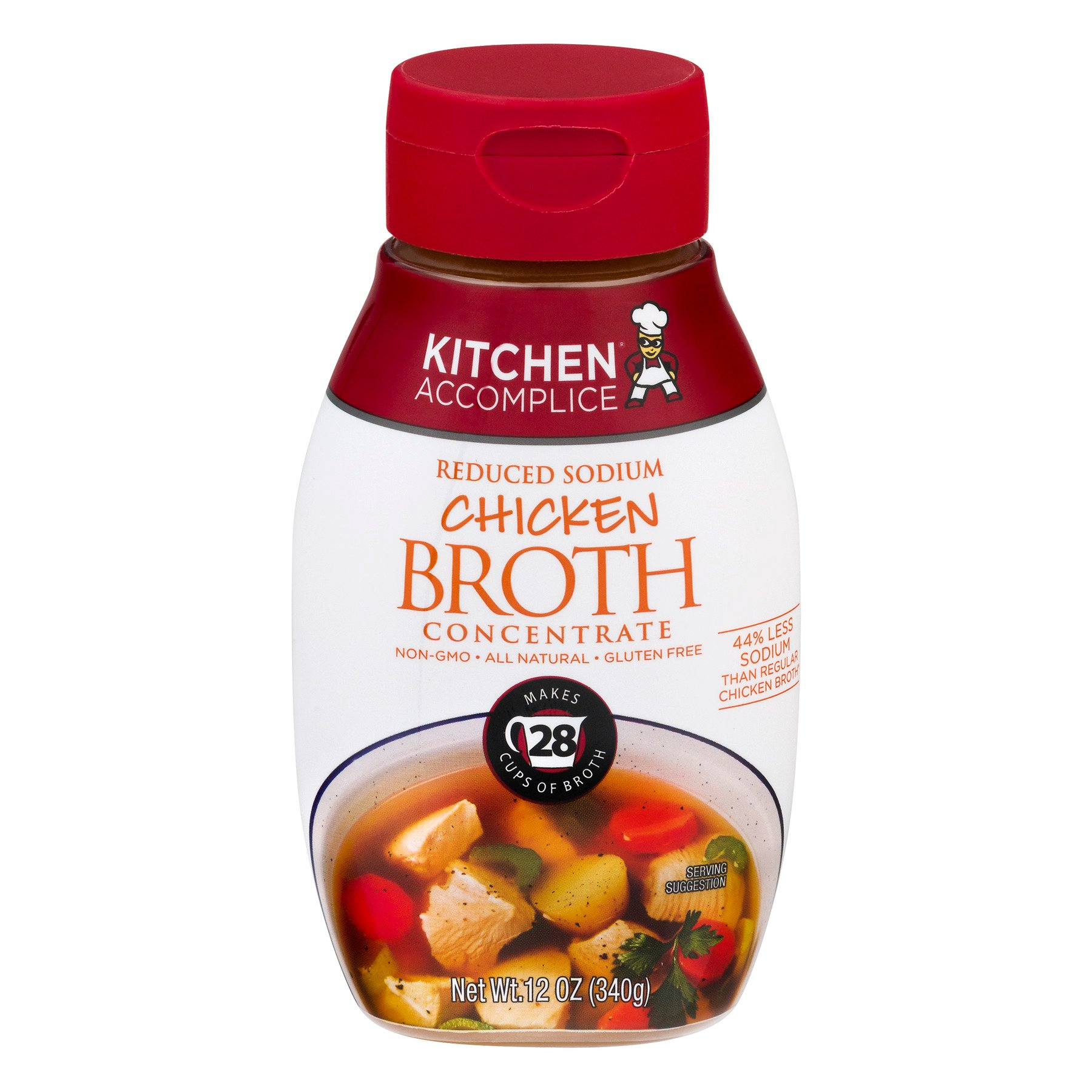 Kitchen Accomplice Chicken Broth Concentrate - Shop Canned Soup at HEB