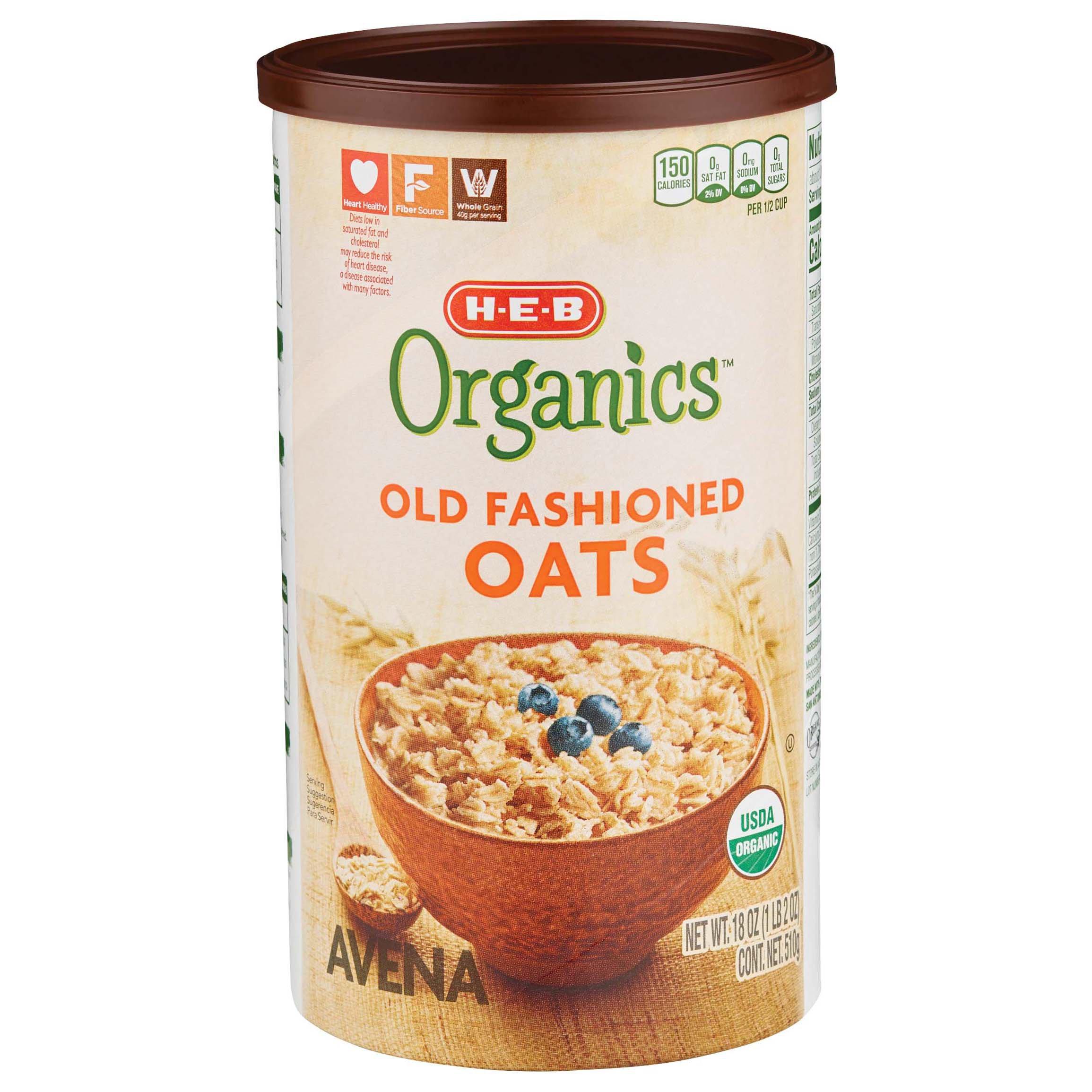 H-E-B Organics Old Fashioned Oats