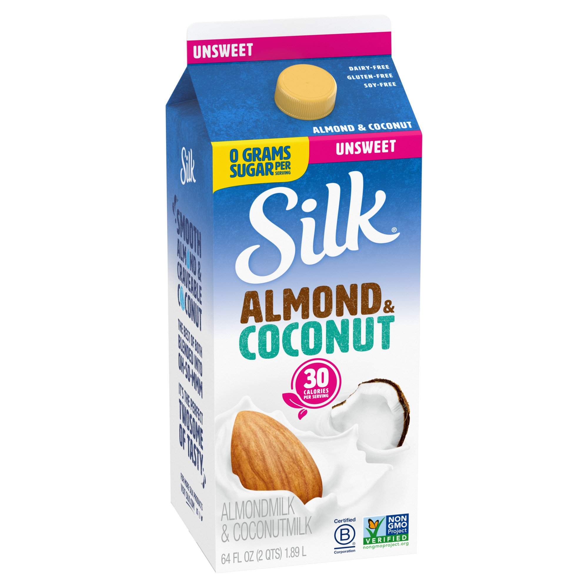 Silk Unsweetened Almond Coconut Blend