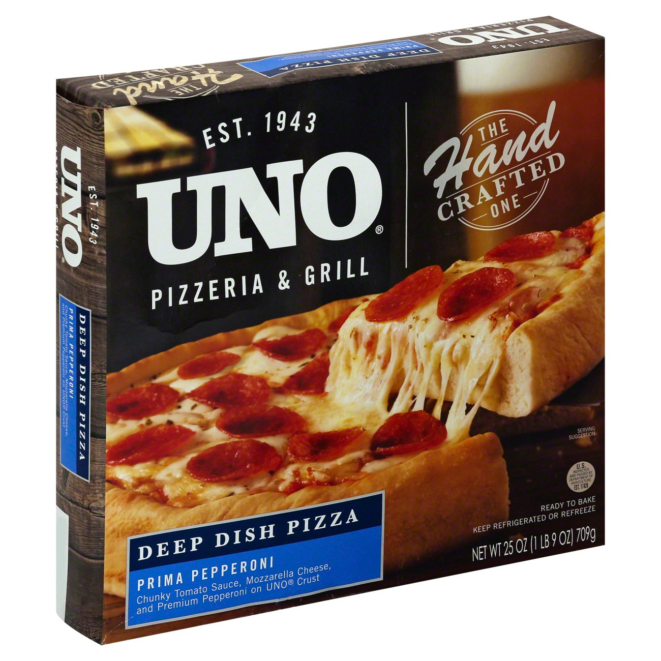 Uno Deep Dish Pepperoni Pizza