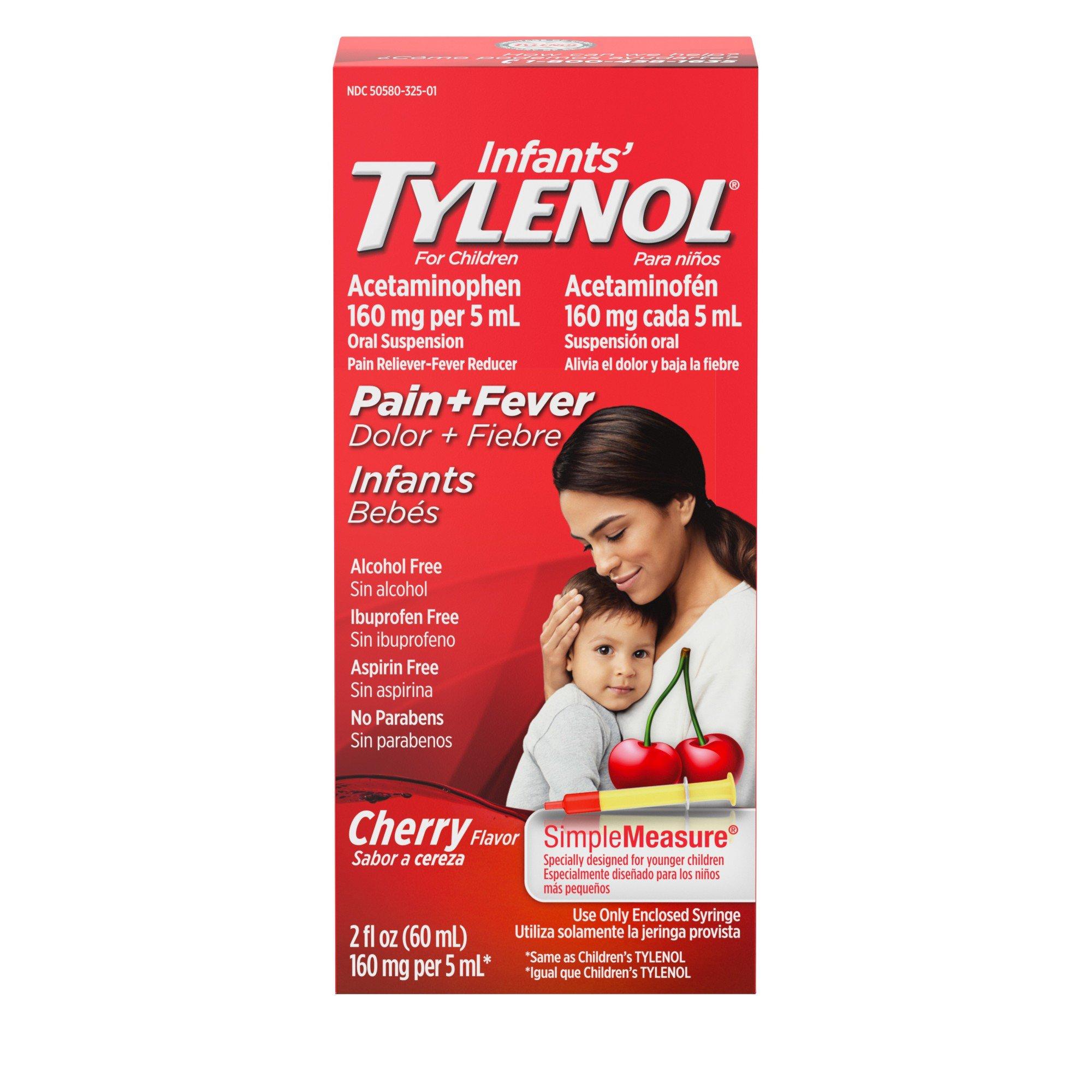 Tylenol infants oral suspension cherry shop kids cold medicine tylenol infants oral suspension cherry shop kids cold medicine at heb nvjuhfo Images