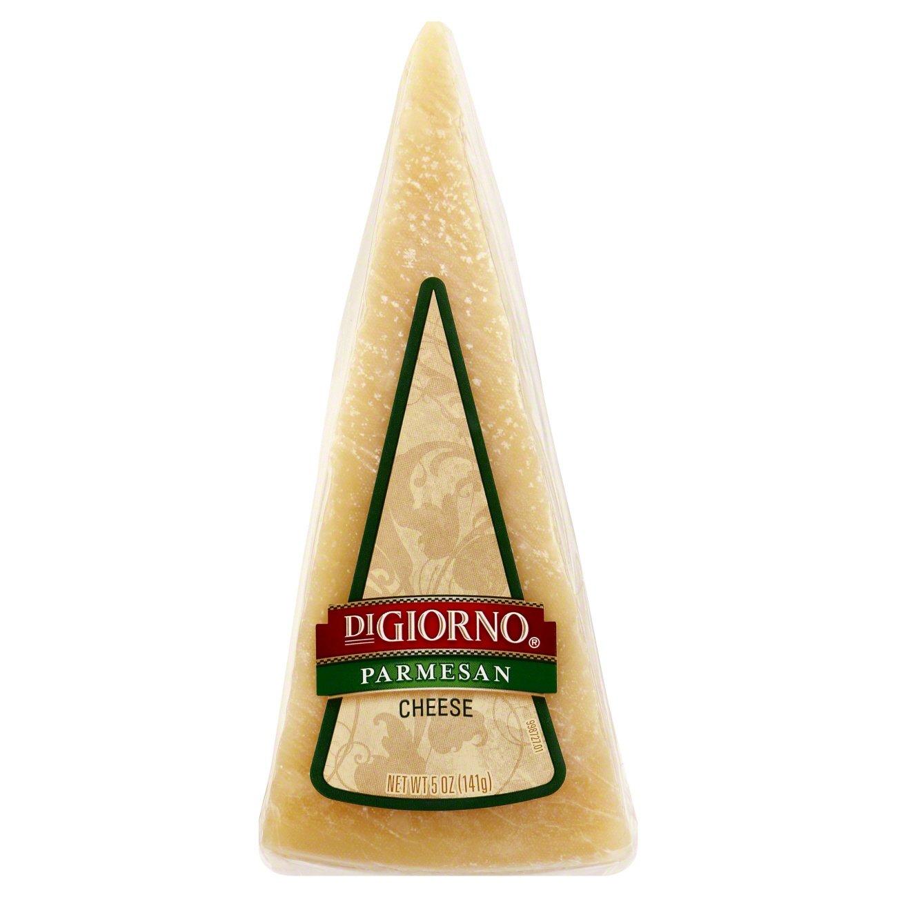 digiorno parmesan cheese wedge  shop cheese at heb