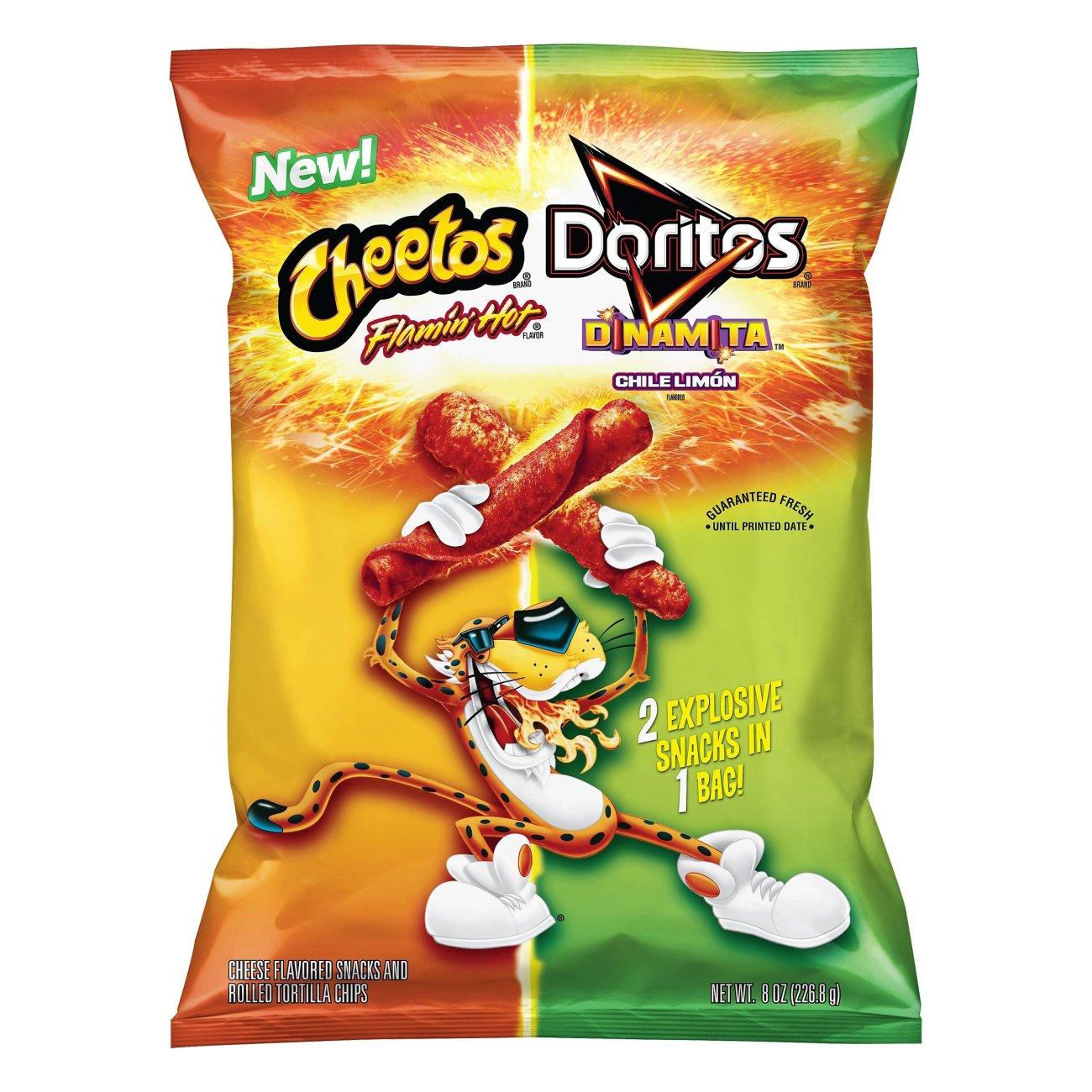 Cheetos Crunchy Flamin' Hot Cheese