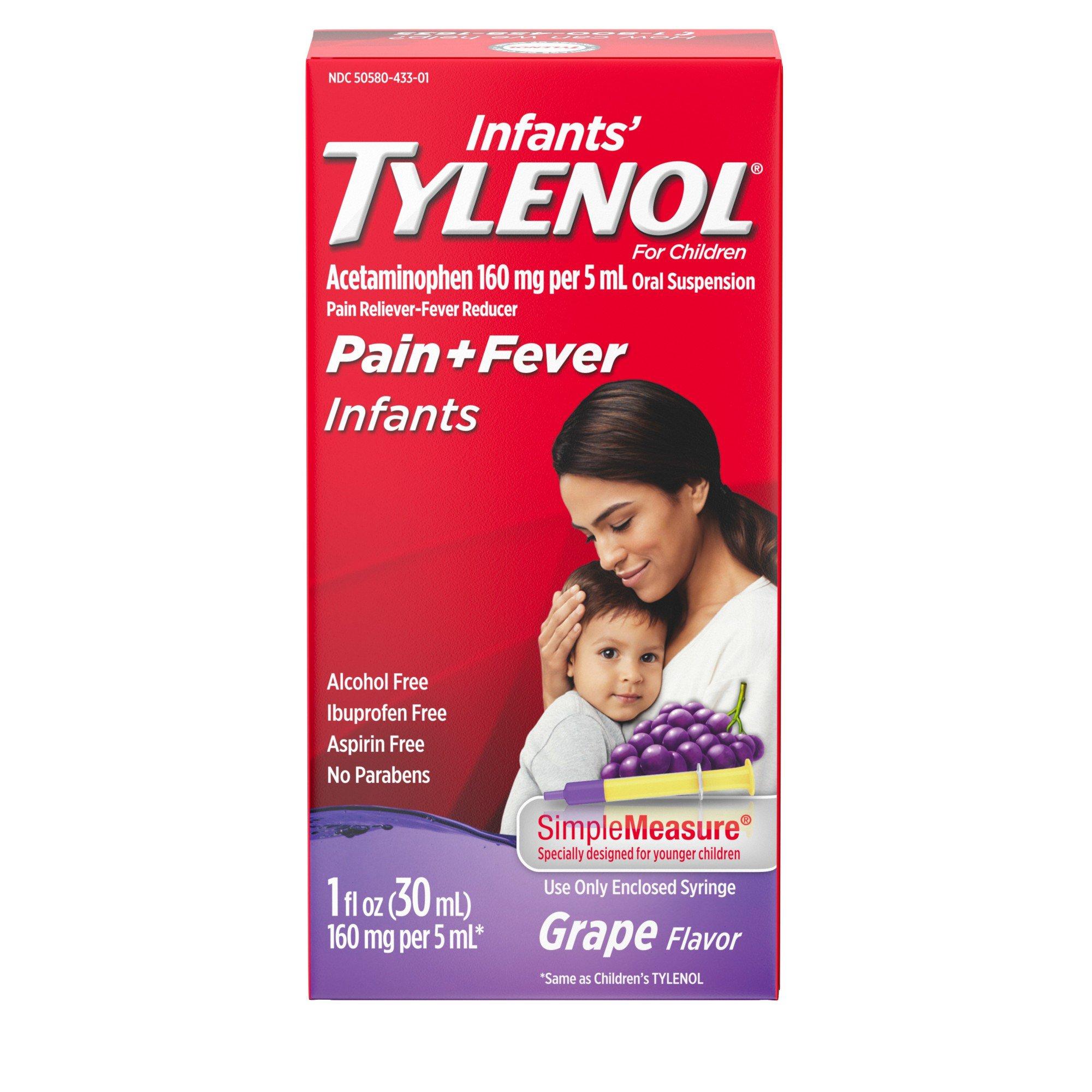 Dosage Of Tylenol For Newborn