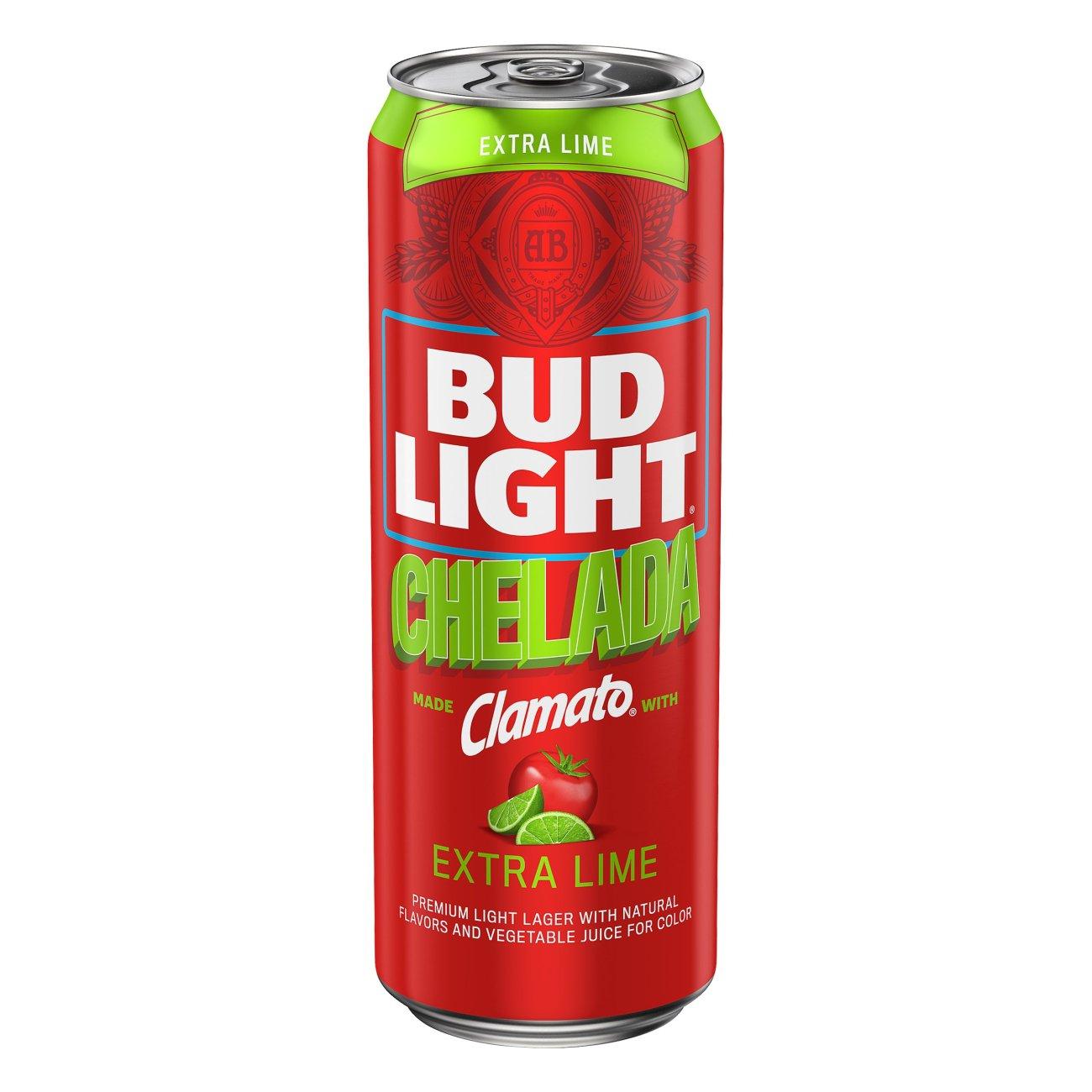 Bud Light Chelada Clamato With Salt