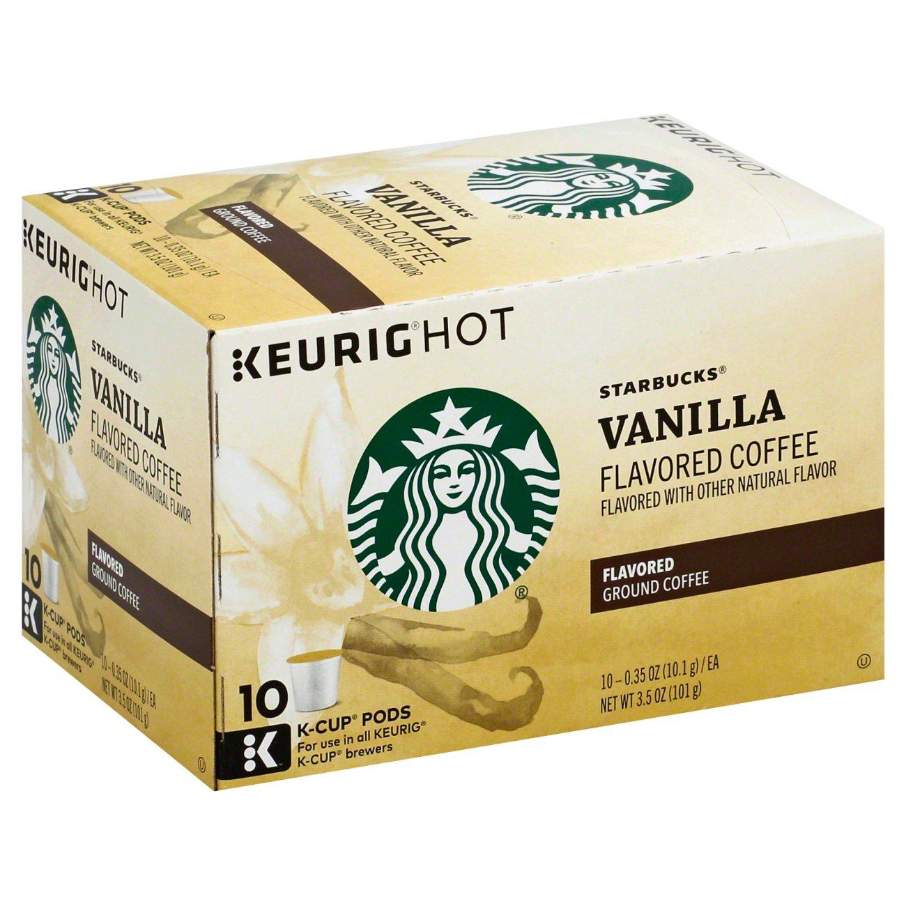 Starbucks Vanilla Flavored Single Serve Coffee K Cups ...