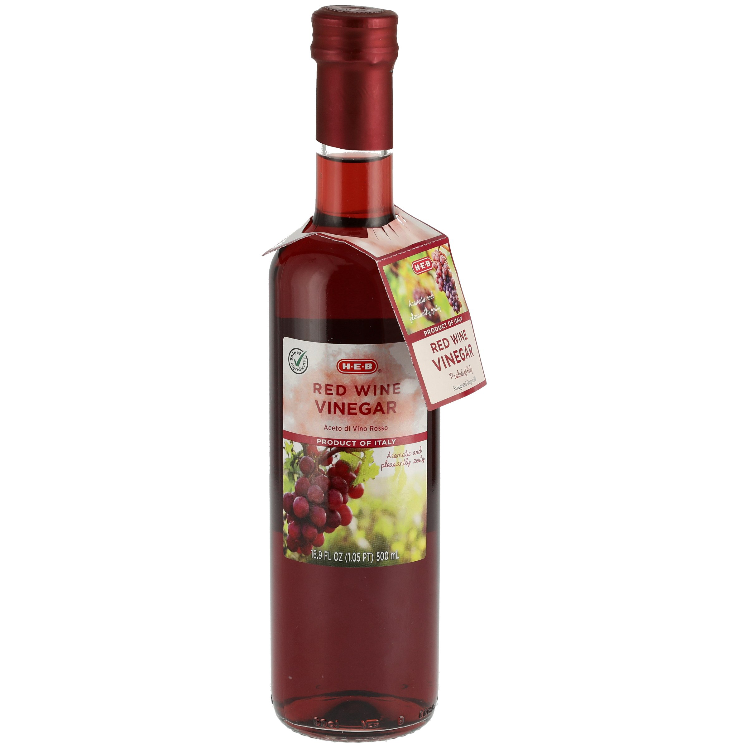 H E B Select Ingredients Red Wine Vinegar Shop Vinegar Cooking Wine At H E B