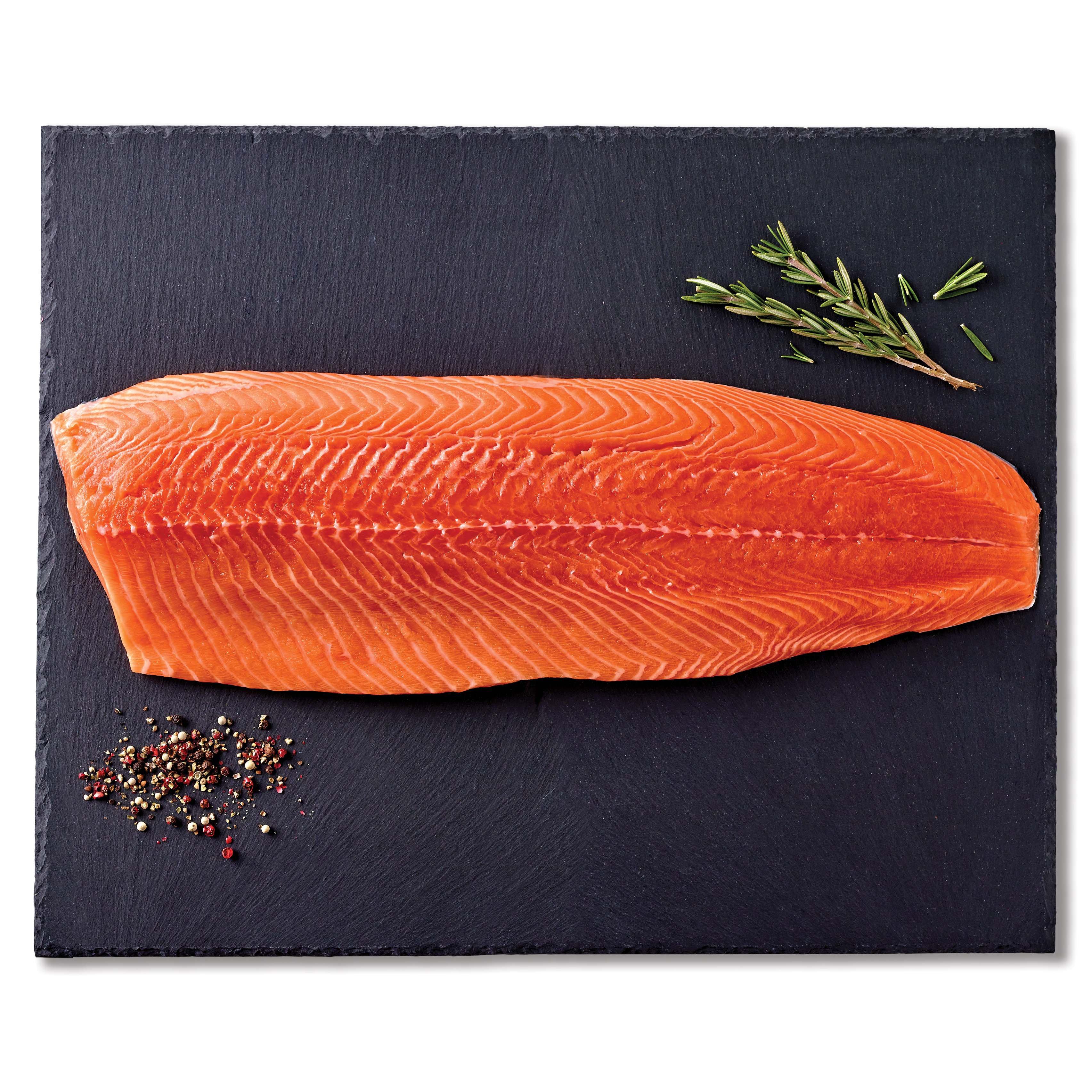 Fresh E.U. Certified Organic Atlantic Salmon Fillet, Farm Raised ...
