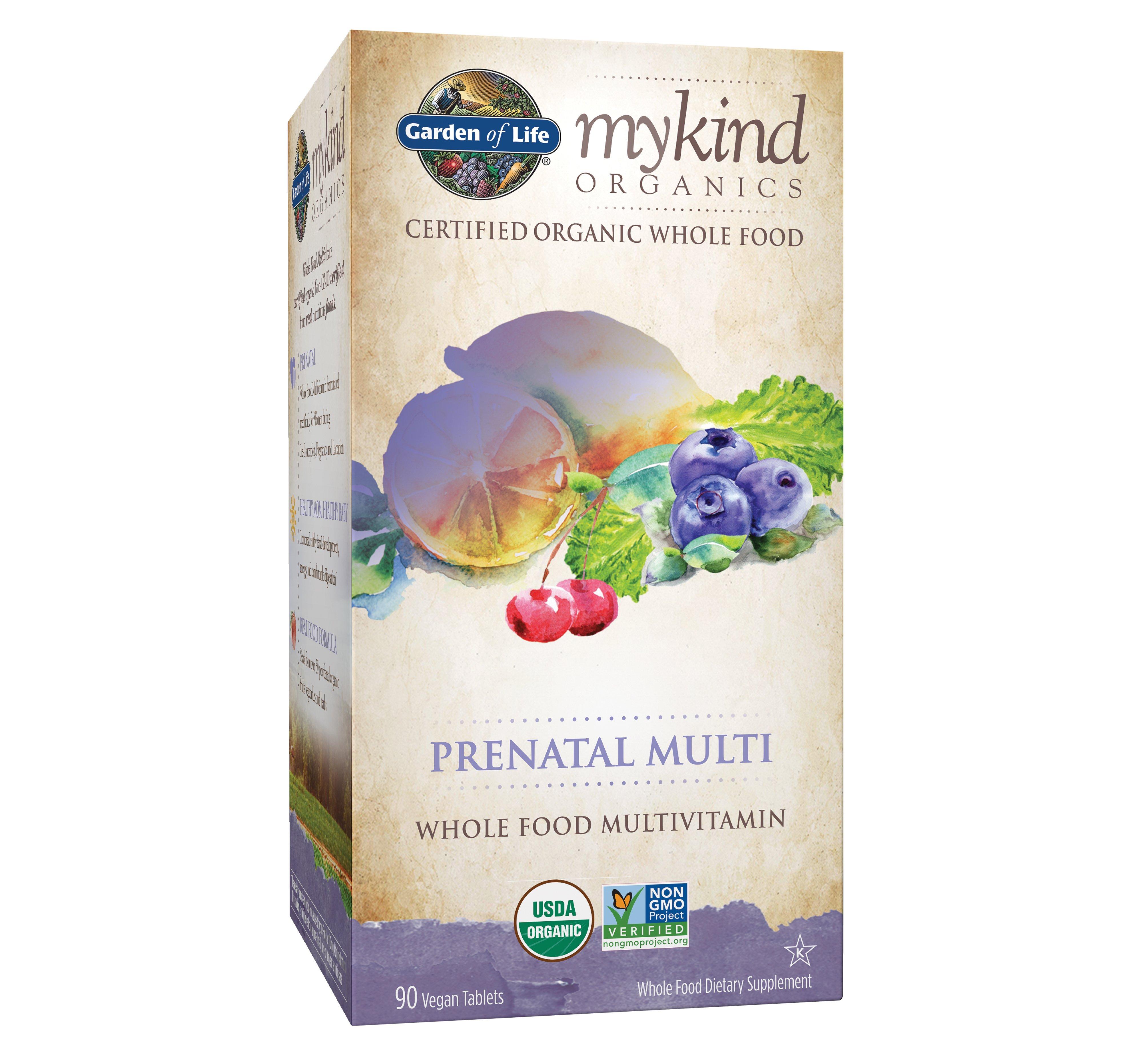 Garden Of Life Mykind Organics Prenatal Multivitamin Tablets Shop Multivitamins At H E B