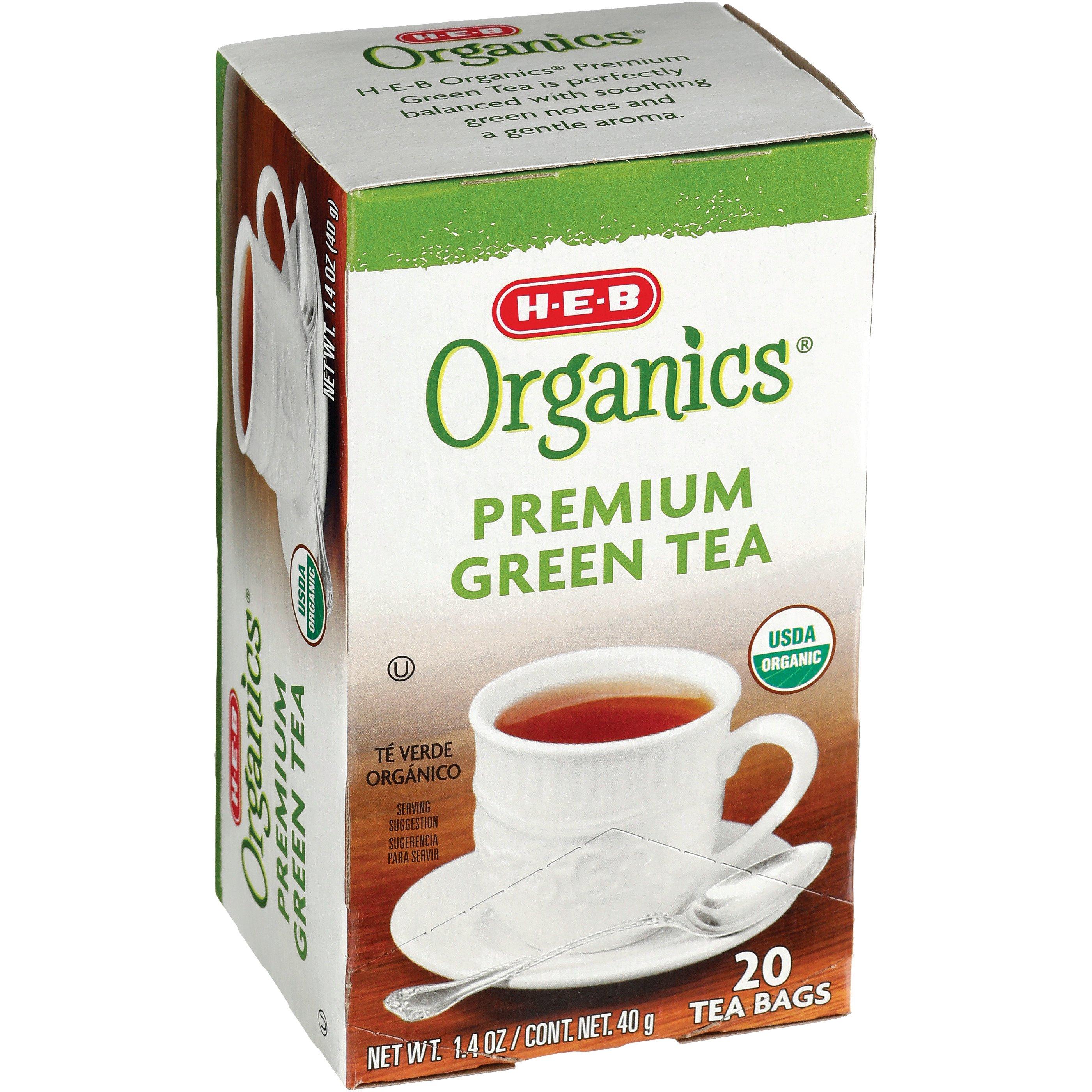 H‑E‑B Organics Premium Green Tea ‑ Shop Tea at H‑E‑B