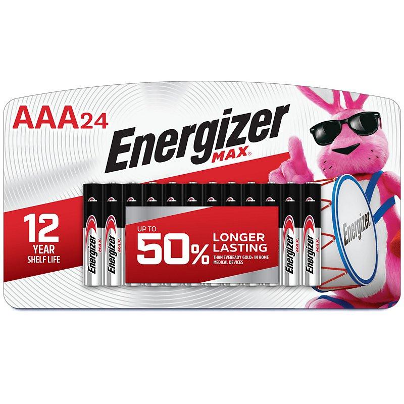 Energizer Max Aaa Alkaline Batteries Shop Batteries At H E B