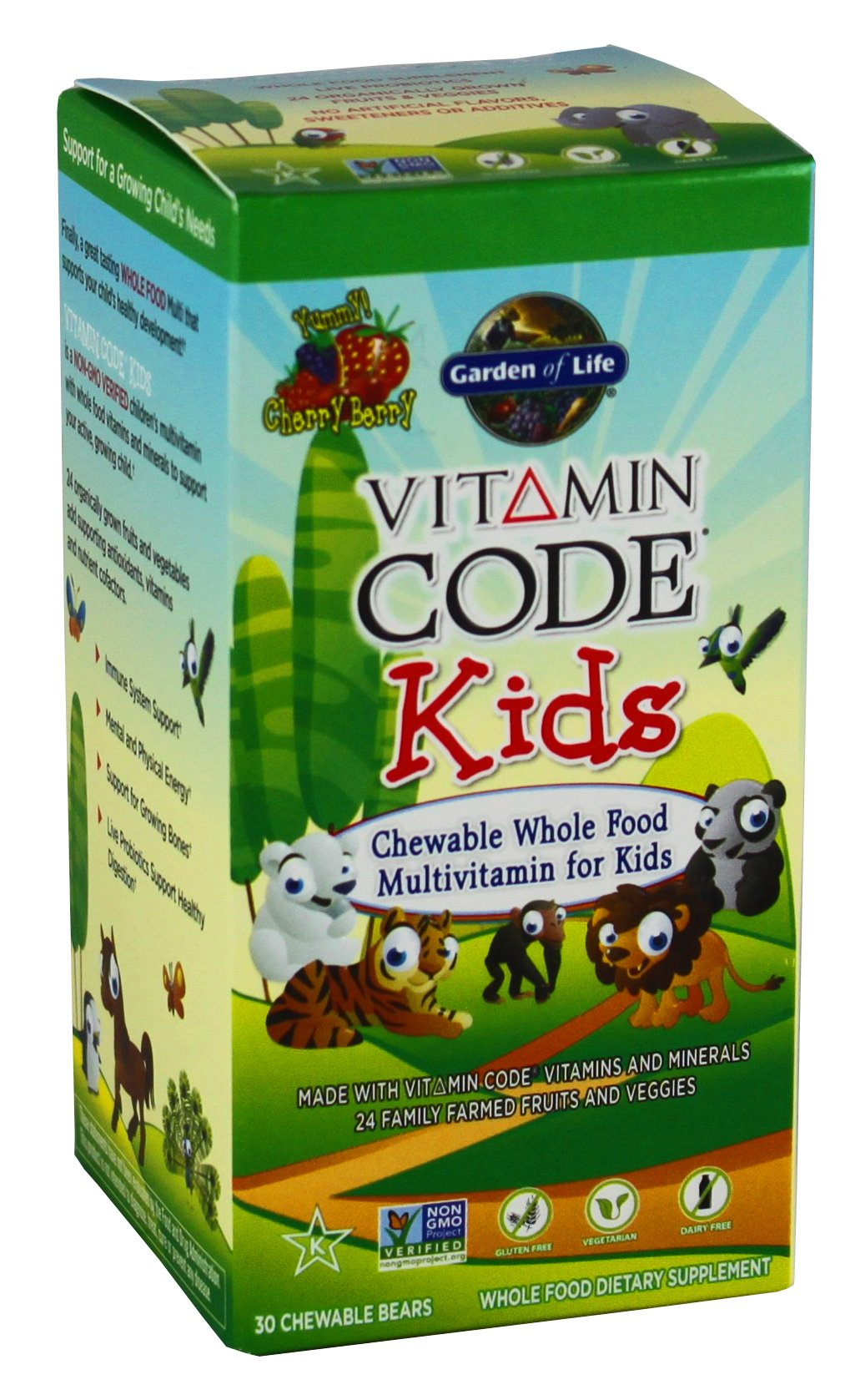 garden of life vitamin code kids shop multivitamins at heb - Garden Of Life Multivitamin