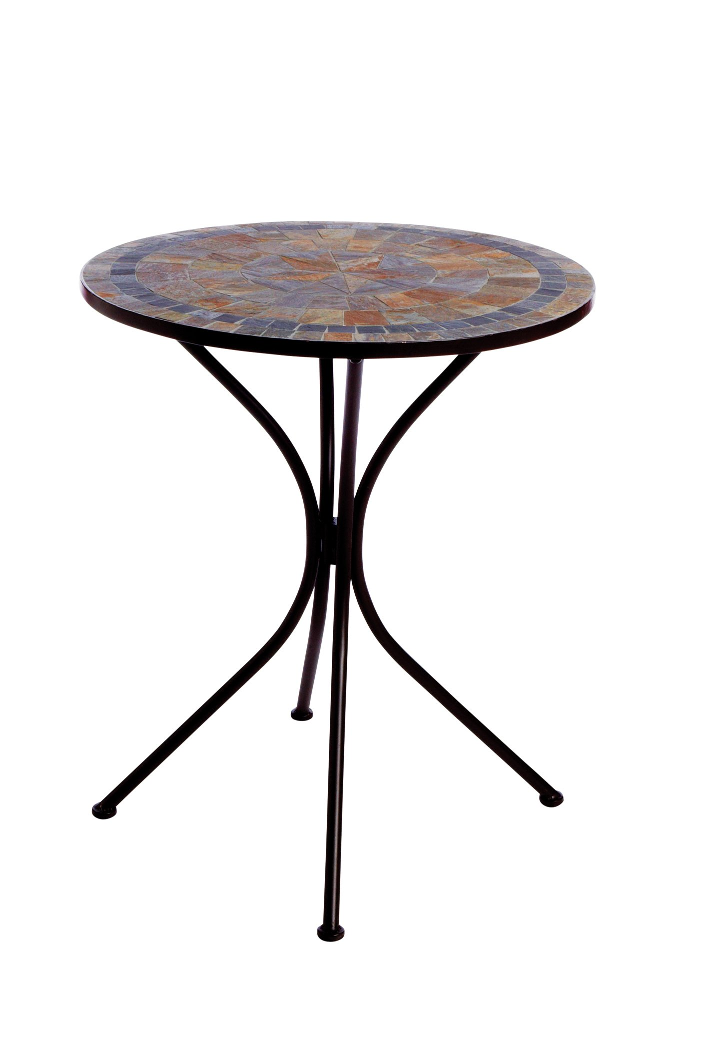 Zest Garden Brazos Slate Bistro Table Shop Furniture at HEB