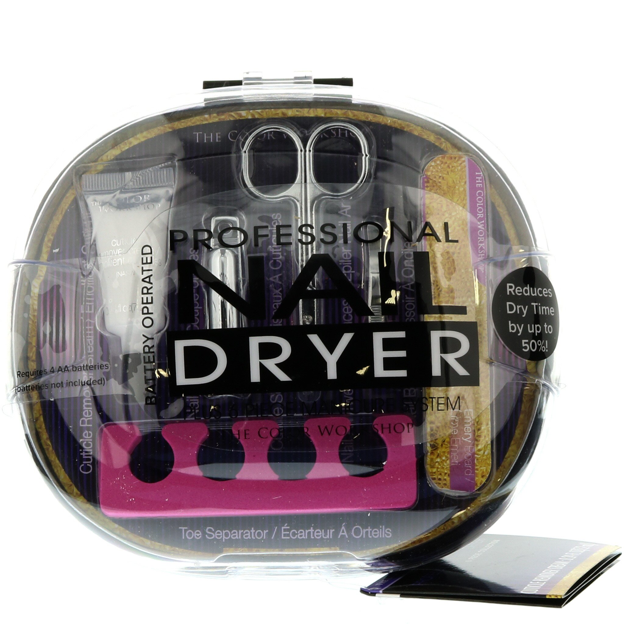 Markwins Professional Nail Dryer With Implements - Shop Makeup Bags ...