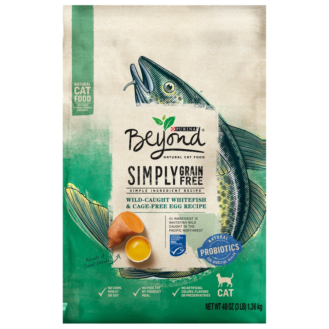 Purina beyond natural ocean whitefish and egg cat food shop dry at heb forumfinder Gallery