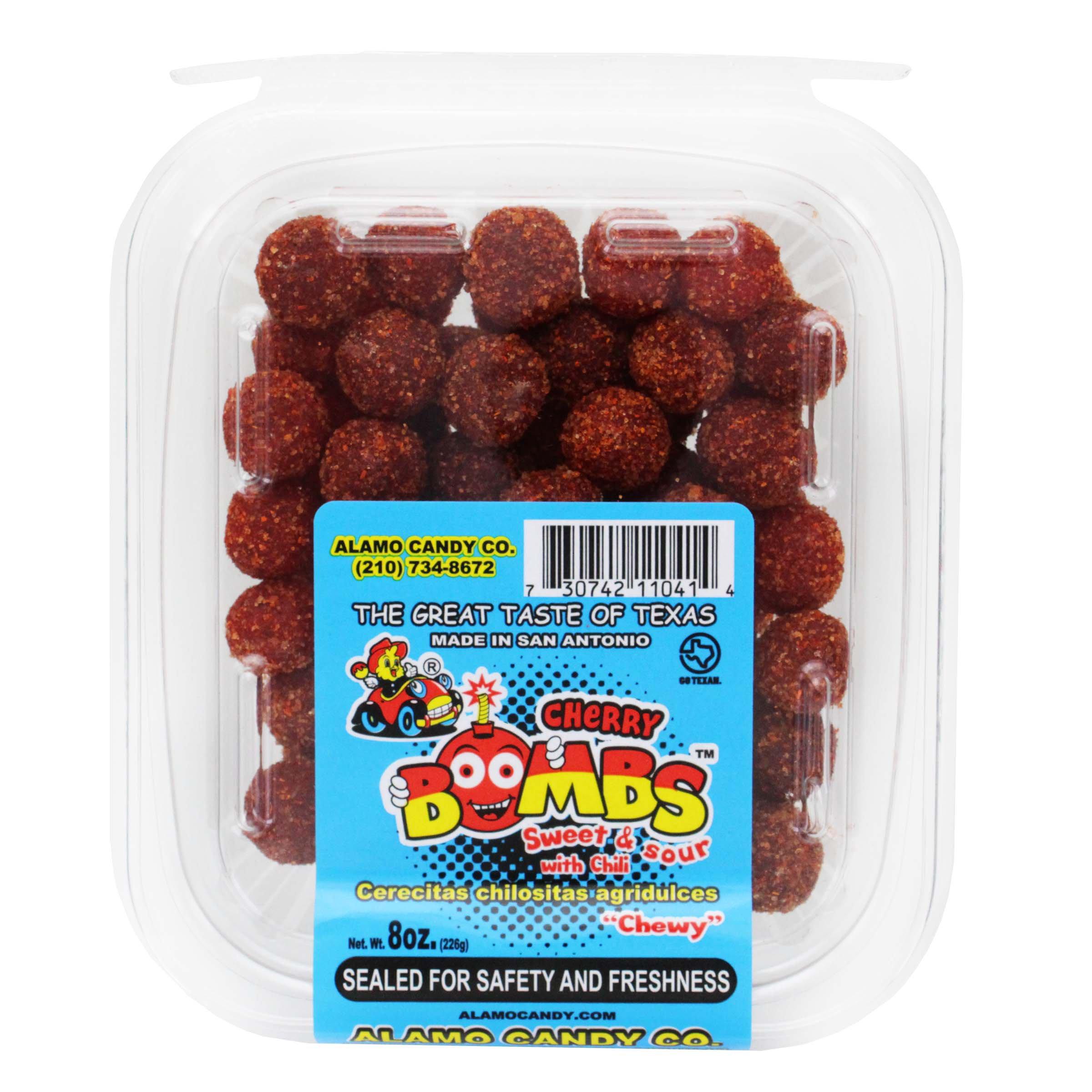 Alamo Candy Cherry Bombs Tub Shop Candy At H E B