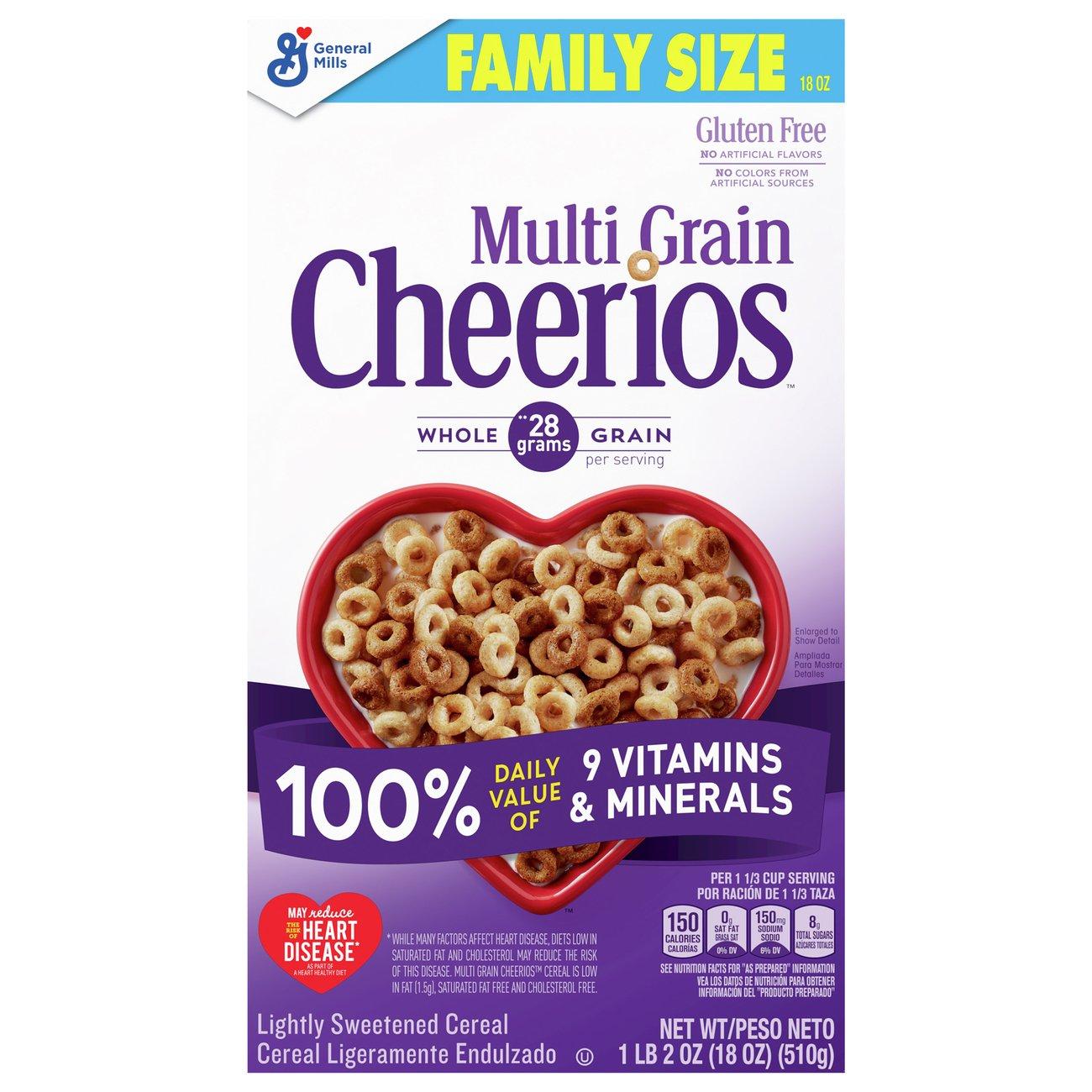 Multi-Grain Cheerios Cereal