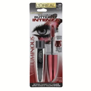 6130b64dfaa L'Oreal Paris Voluminous Butterfly Intenza Blackest Black Mascara ‑ Shop  Mascara at H‑E‑B