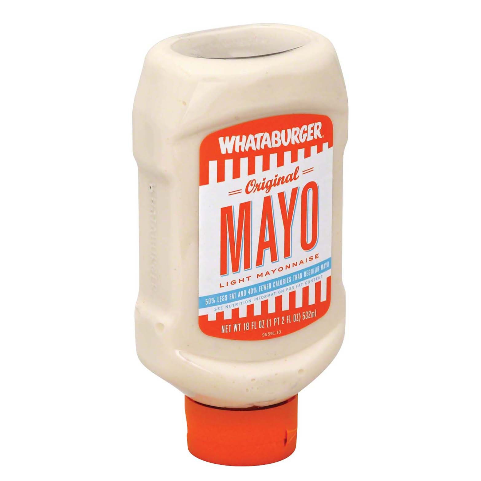 Whataburger Original Mayo Light Mayonnaise Shop Mayonnaise Spreads At H E B