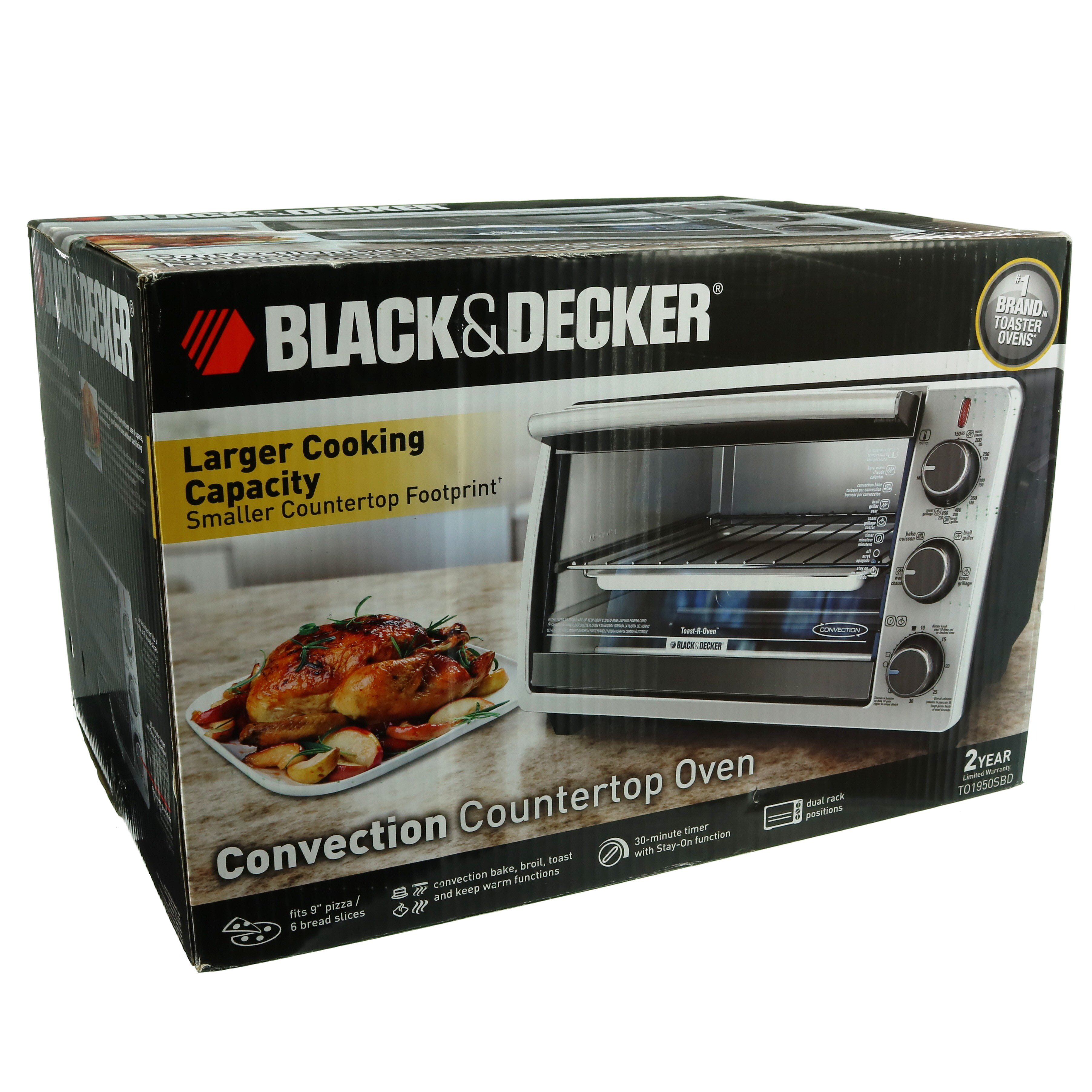 Black \u0026 Decker Convection Countertop Oven - Shop Toasters at HEB