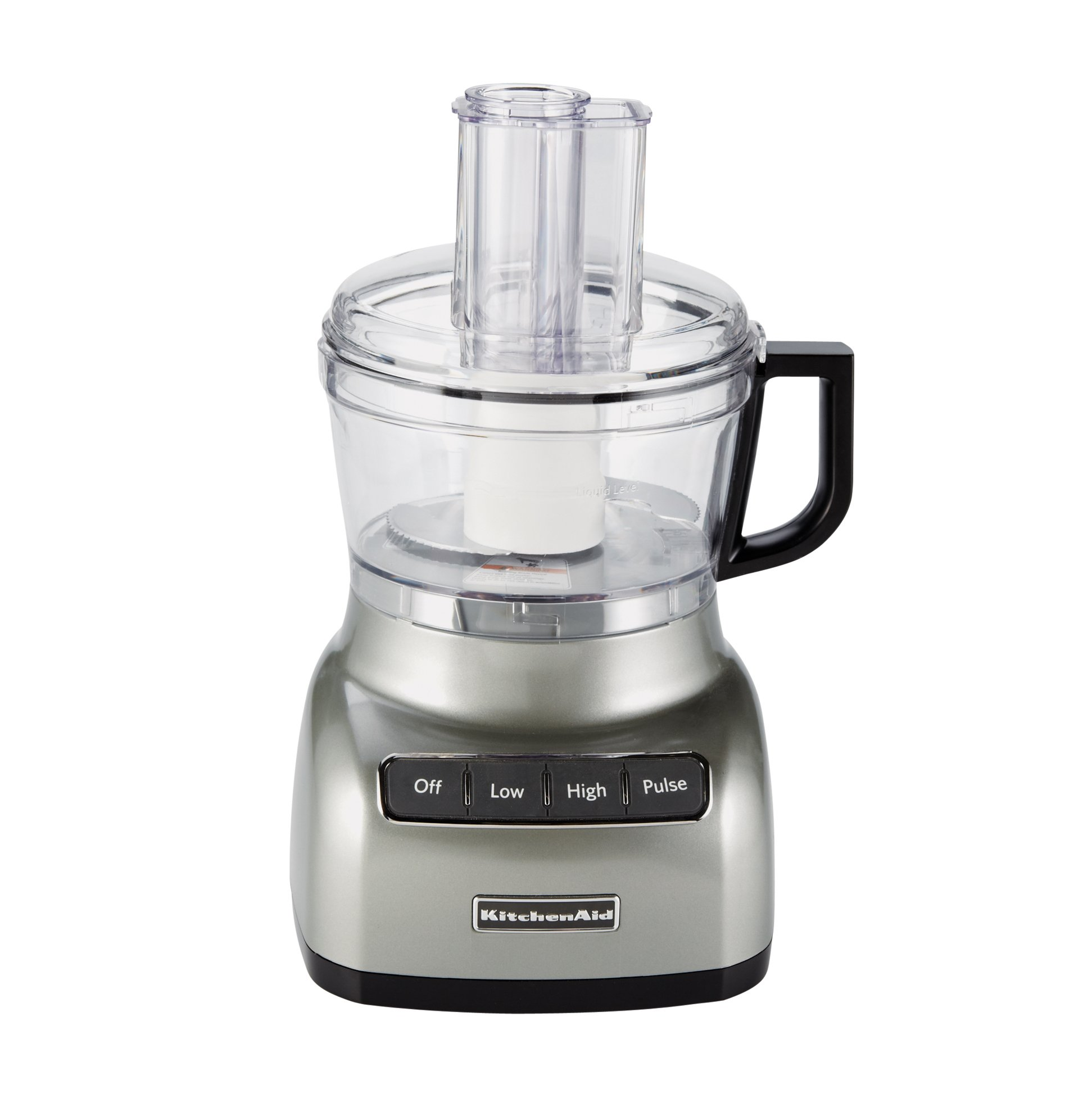 KitchenAid Silver 7 Cup Food Processor. Roll Over Image To Zoom In