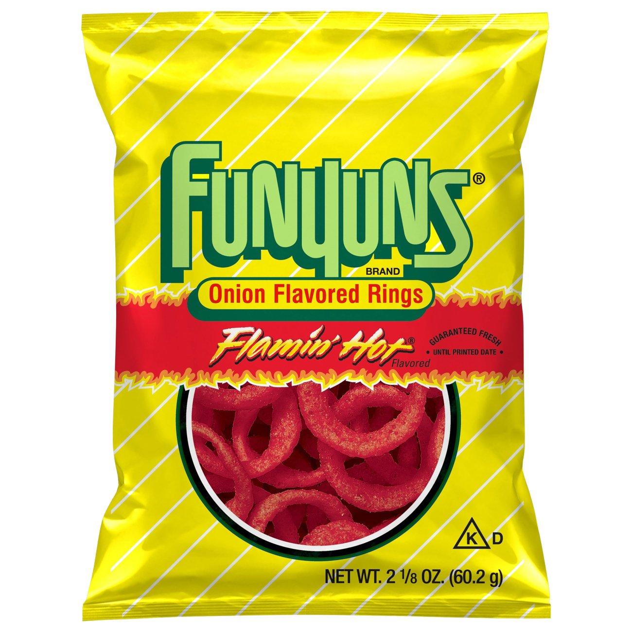 Funyuns Flamin' Hot Onion Rings - Shop Chips at H-E-B