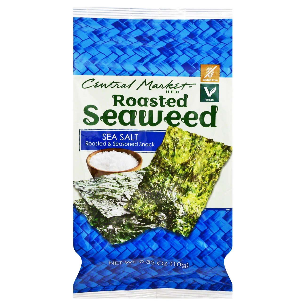 Sea Salt Roasted Seaweed ‑ Shop Chips