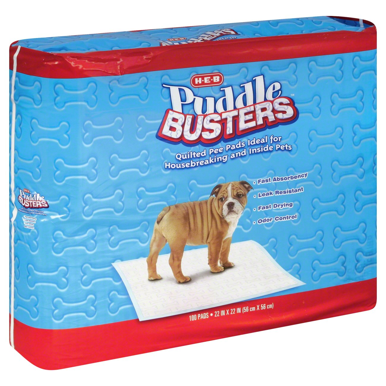 H‑E‑B Puddle Busters Pee Pads for Pets ‑ Shop Potty Training at HEB