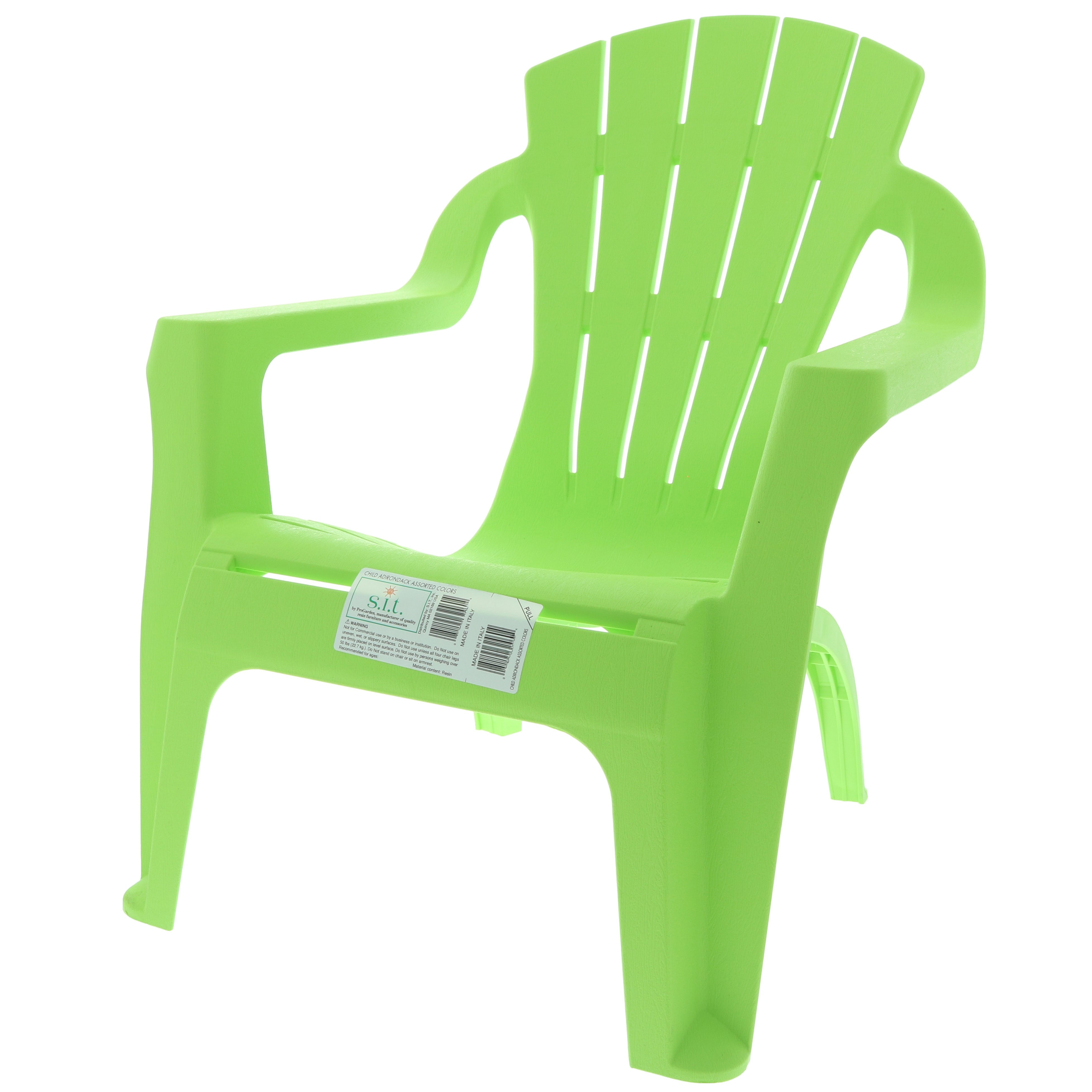 S I T Summer Green Selva Adirondack Chair Shop Furniture at HEB